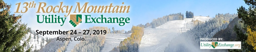 13th Rocky Mountain Utility Exchange, Sept. 24-27, 2019 in Aspen, Colorado