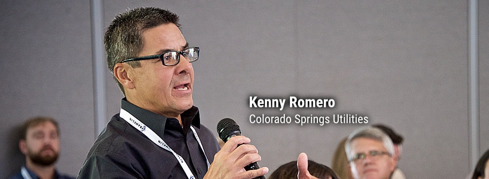 Kenny Romero, Colorado Springs Utilities